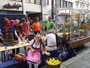 o'pflanzt is! beim Park(ing) Day