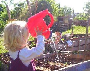 Junges Stadtgemüse – Garten(er)leben für Kinder und Familien