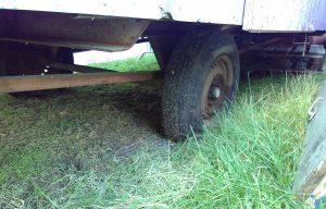 Hilfe für kaputtes Bauwagen-Rad gesucht
