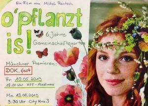 o'pflanzt is! beim DOK.fest München