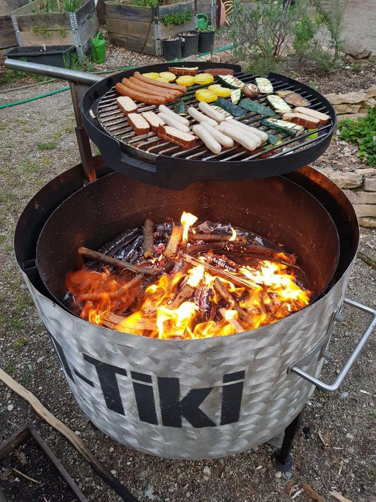Kon-Tiki als Grill